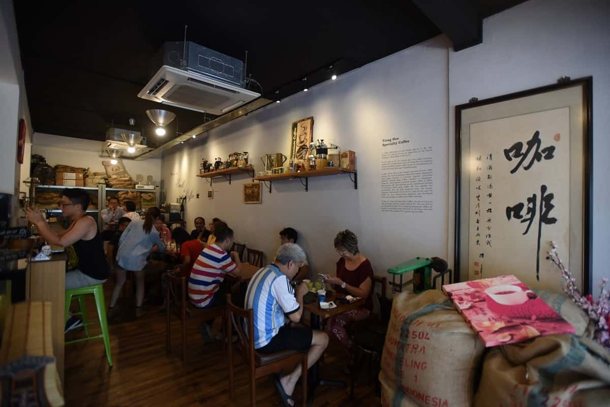 Coffee in Singapore-Tiong Hoe