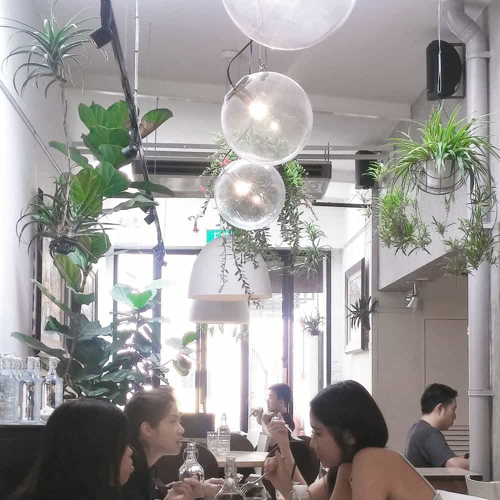 Best cafes in Singapore: Curious Palette