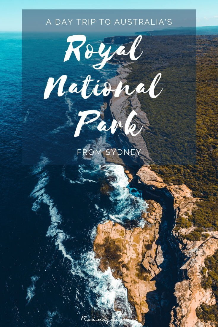 Pinterest image: A day trip from Sydney to Australia's Royal National Park