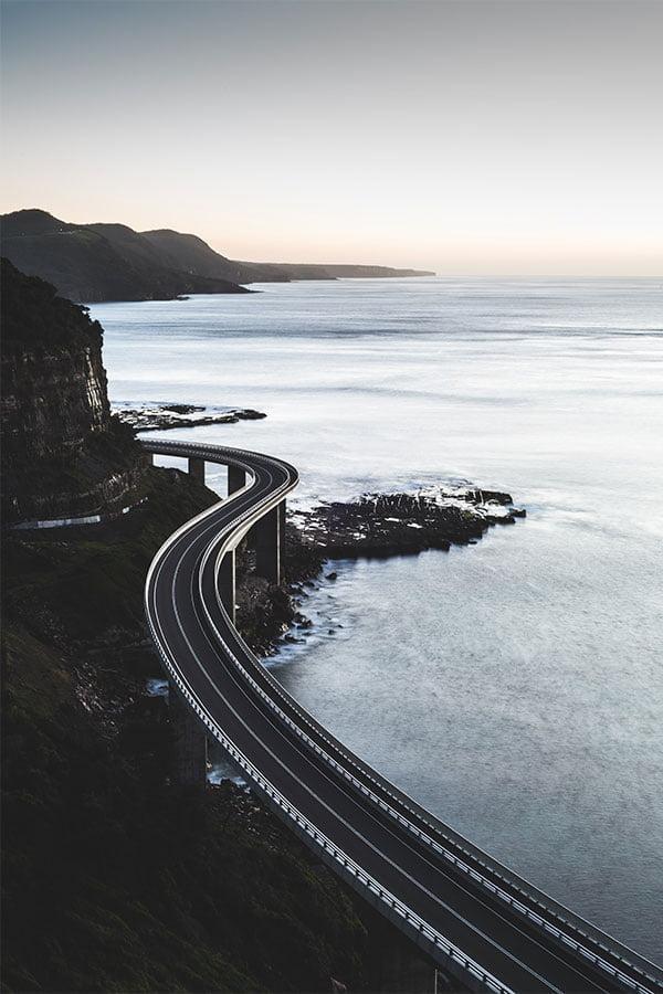 Sea Cliff Bridge, NSW Australia. Photo: William Karl / Unsplash