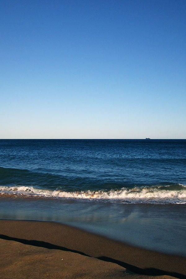 Stanwell Park Beach near Royal National Park, NSW Australia