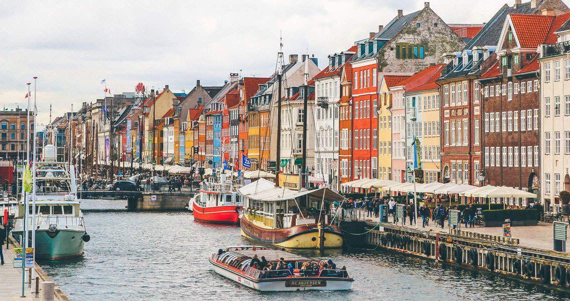 Go on a self-guided walking tour of Copenhagen. Photo by Nick Karvounis / Unsplash