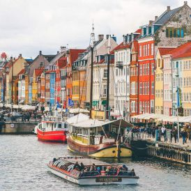 Go on a self-guided walking tour of Copenhagen. Photo by Nick Karvounis / Unsplash