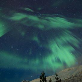 Aurora in Skitbotn, Norway