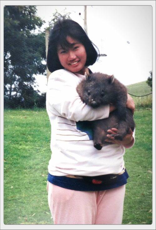 Mum, Tasmania 1992