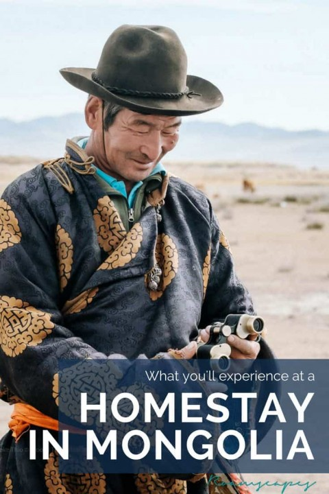 Want to experience what it's like to be an actual, non-digital nomad? Try living with Mongolian nomads at a local homestay.