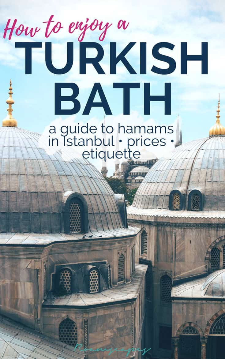 Thinking of visiting a Turkish bath in #Istanbul? Make it happen with this guide!