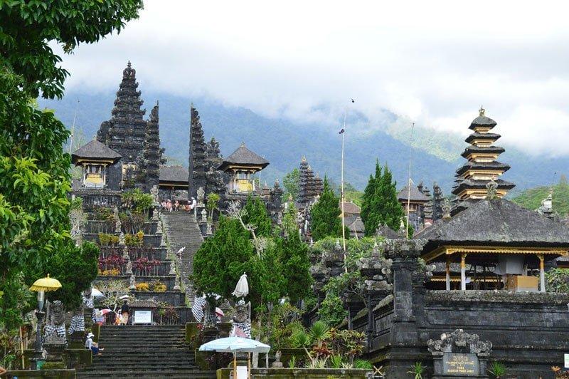 Pura Besakih, Mount Agung, Bali Indonesia