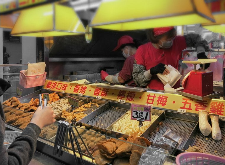 Taiwan Fried Street Food Stall