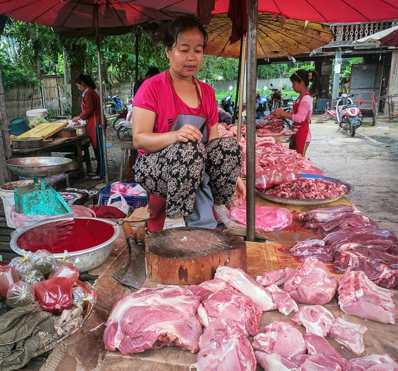 Fresh Finds at Luang Prabang's Morning Market