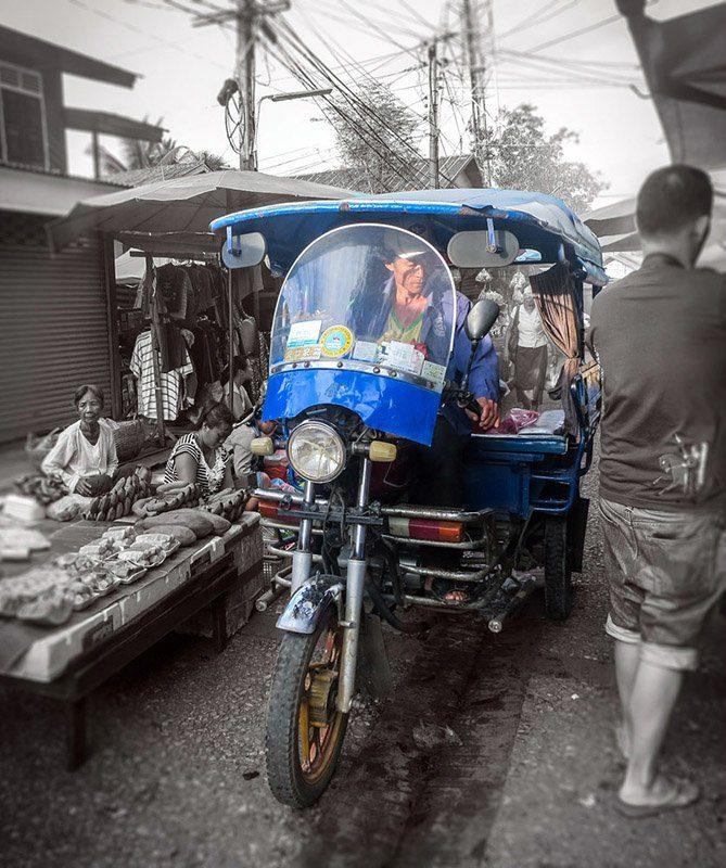 Tuk-tuk, Luang Prabang, Laos