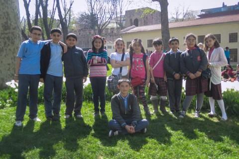 Children in Gulhane Park