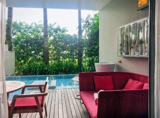 W Hotel Sentosa Away Room Review