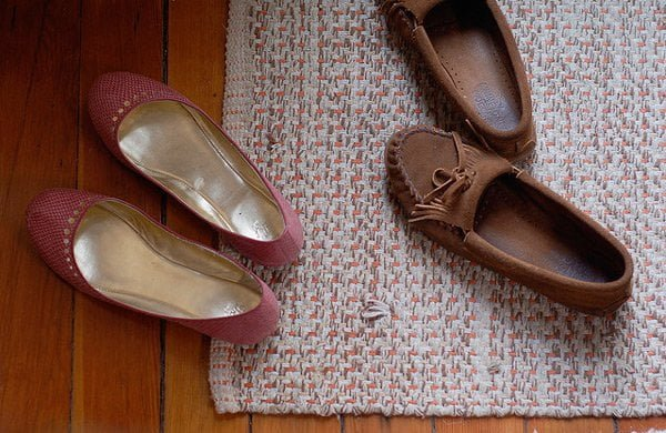 Hotel superstitions: watch how you place your shoes. Image: Brooke Raymond/Flickr