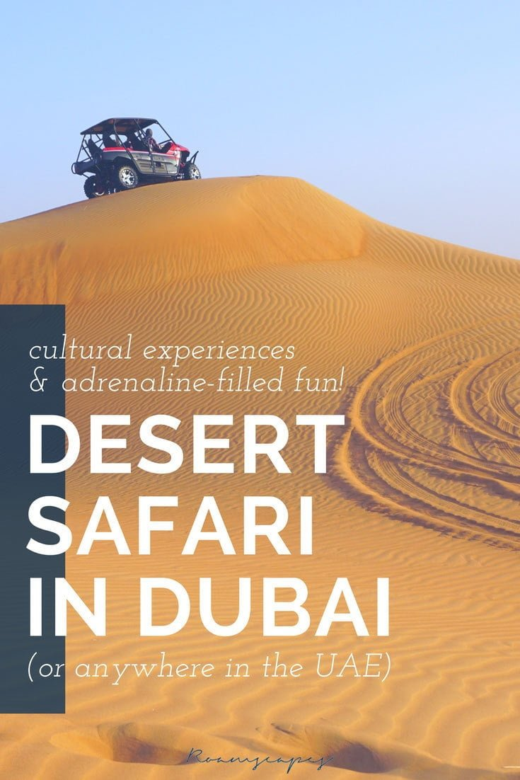 What's there to see and do in the bare, brutal landscape of the Arabian Desert? If you go on a #Dubai #desert #safari, you'll realize there's plenty of adrenaline-filled fun and culture here to keep you in awe.