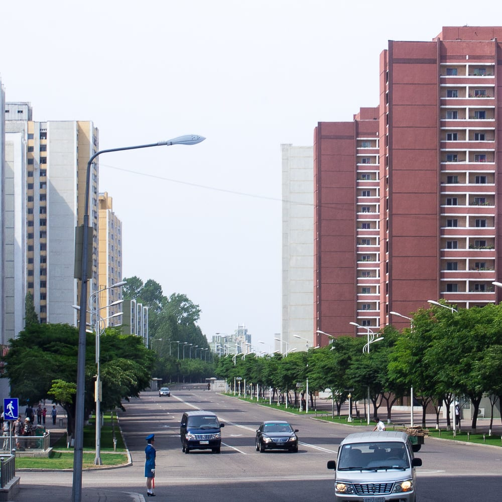 Premium housing near the Koryo Hotel