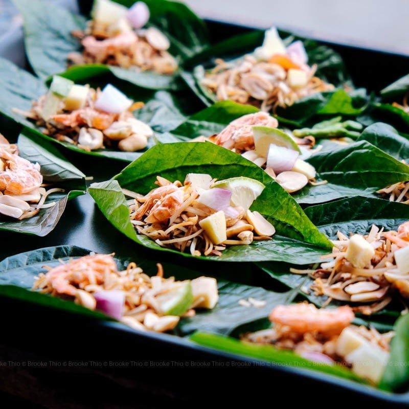 Miang Kham Thai snack