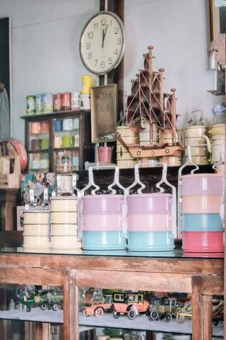 A shop at Khlong Bang Luang