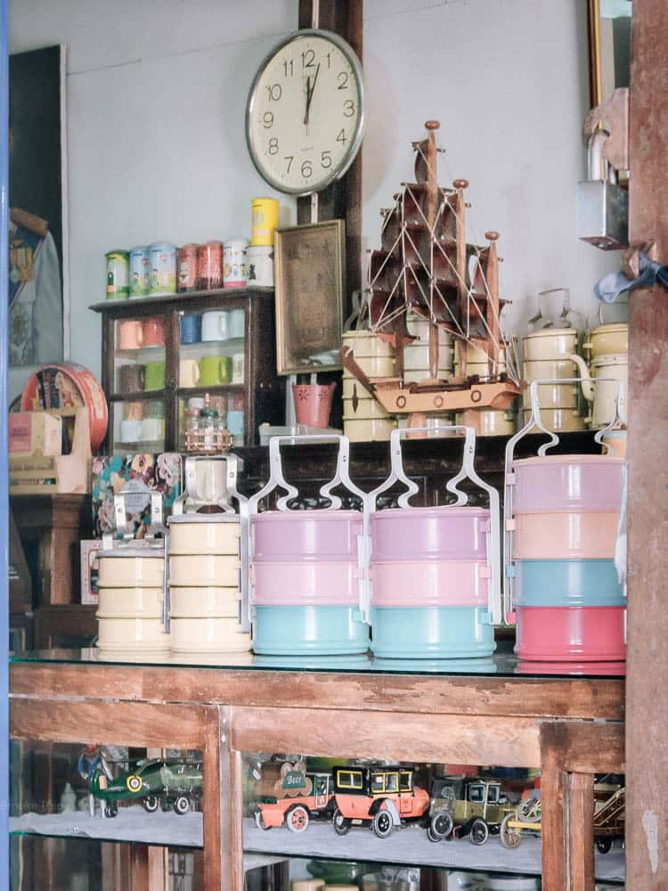 A shop at Khlong Bang Luang