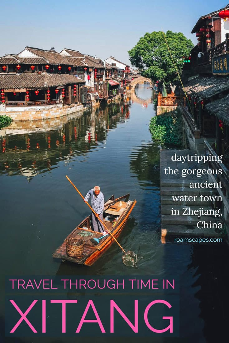 A day trip from Shanghai or Hangzhou to #Xitang water town reveals the poetic, time-worn beauty of China's #Zhejiang province.