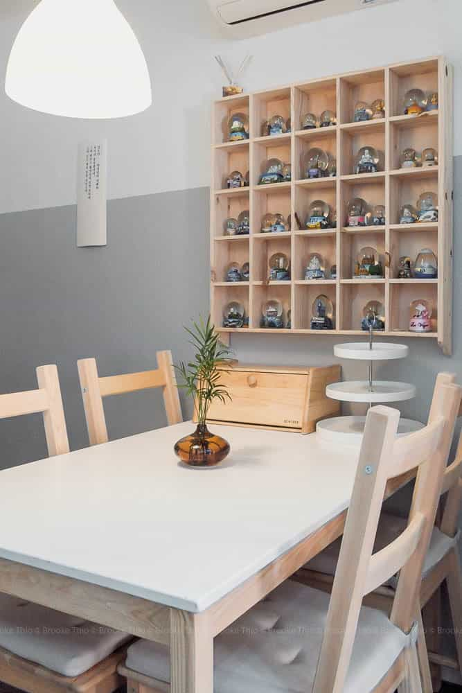 Seoul Airbnb apartment dining
