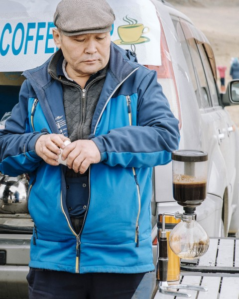 Nomadic Coffee Van