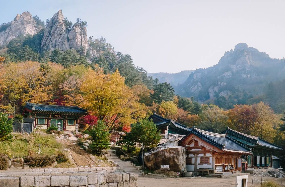 OSeAm Temple, Seoraksan (오세암)