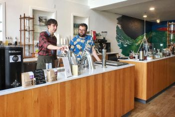 Best coffee places in Seattle: Capitol Coffee Works