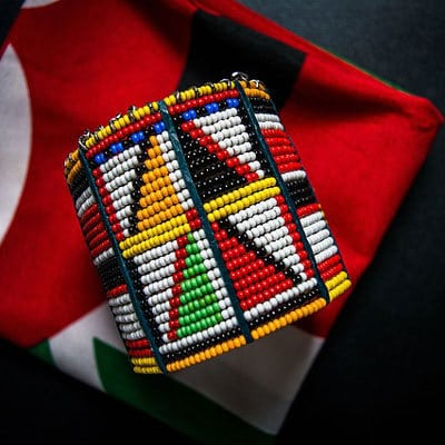 Maasai beaded bangle. Photo: AlamaCreative/Pixabay