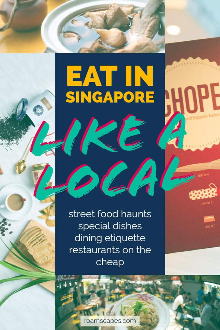 Eat in Singapore Like a Local: a Singapore food guide