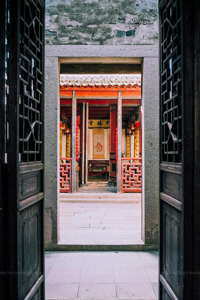 Courtyard in West Garden, Xitang