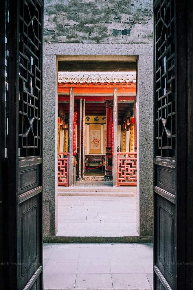 Courtyard in West Garden, Xitang