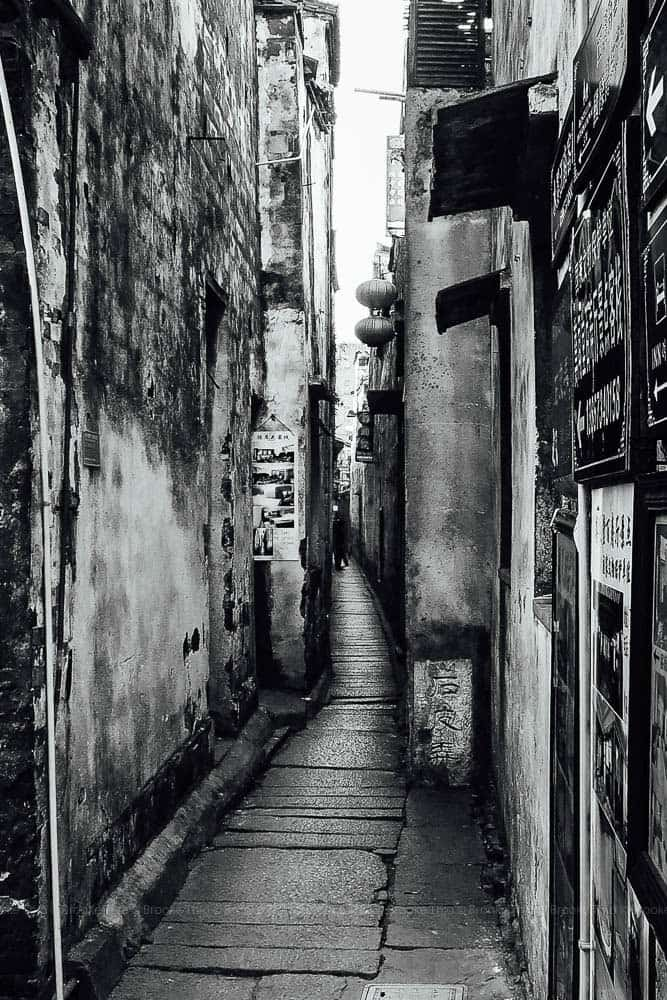 Shipi Lane in Xitang Water Town