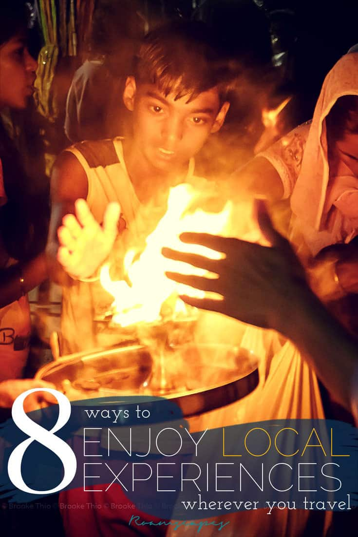 Want to experience more local culture when you travel? Here are 8 ways to connect with locals and learn more about any place you visit.