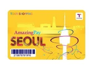 Amazingpay Tmoney Seoul subway pass