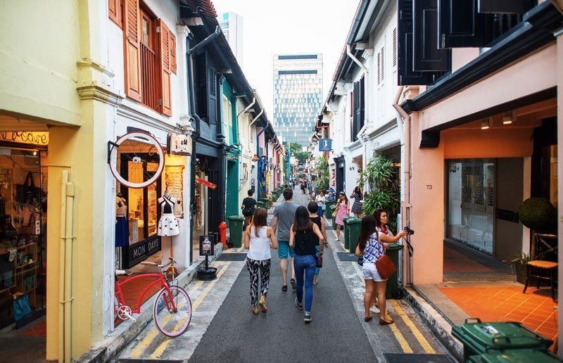 Shopping in Singapore: Haji Lane. Photo: Danny Santos / Singapore Tourism Board
