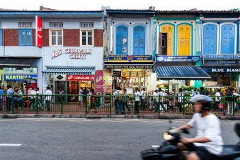 Little India shophouses, Singapore. Photo: Singapore Tourism Board