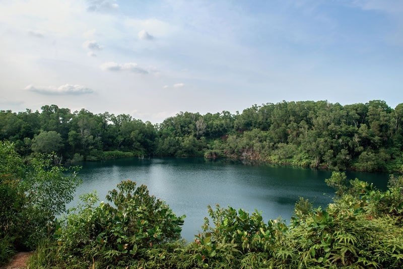 Things to do in Singapore: Pulau Ubin quarry lake