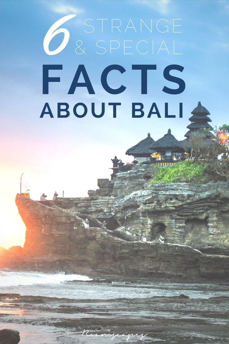"Before you pack your bags for Bali's picture-perfect scenery, live-like-a-royal prices, and mesmerizing culture, here are some fascinating facts about Bali that may change your impression of this Indonesian ""island paradise""."