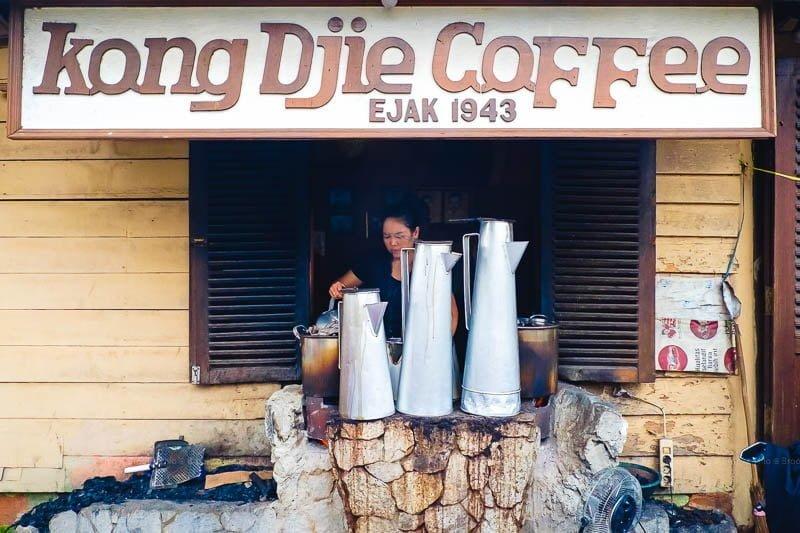Kopi Kong Djie Belitung