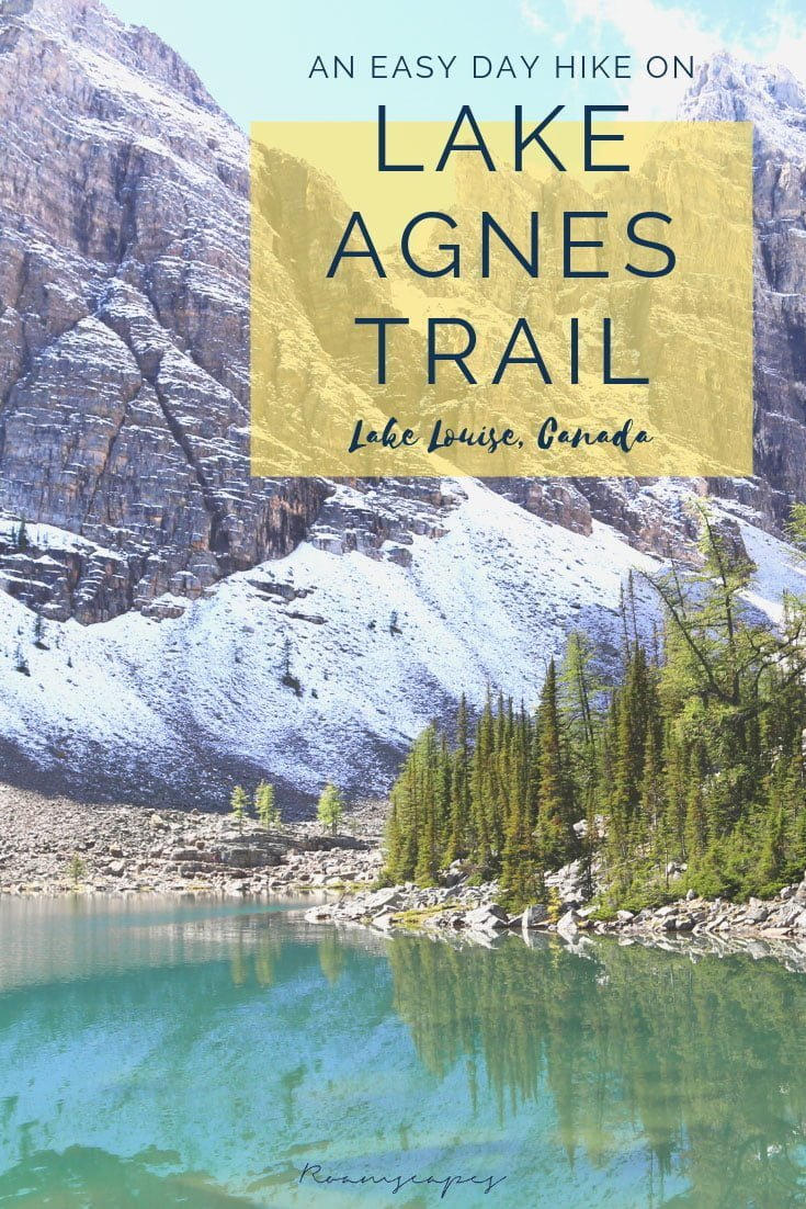 Recounting my personal experience hiking the Lake Agnes Tea House trail, complete with vital info for your own trip.
