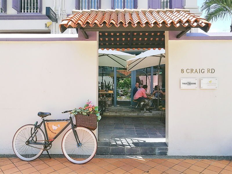 Entrance, Bearded Bella Singapore coffee shop