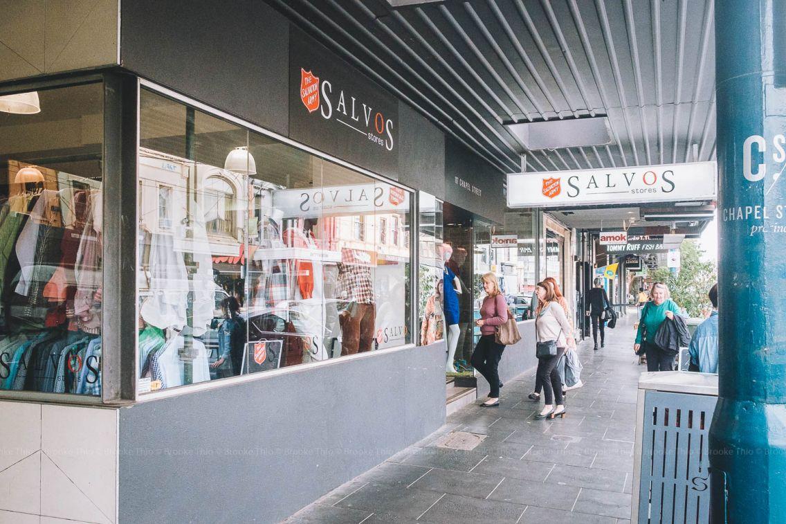 Salvos op shop in Melbourne