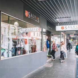 Salvos op shop in Melbourne