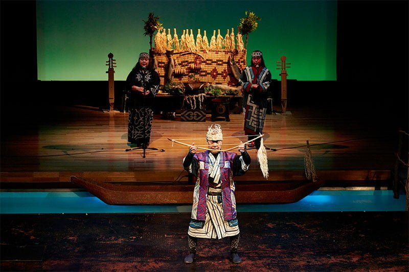 Ainu traditional dance performance. © Japan National Tourism Organization (JNTO)