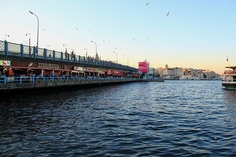 Galata Bridge, Eminonu, Istanbul. Photo: Kenan Tekin/Pixabay
