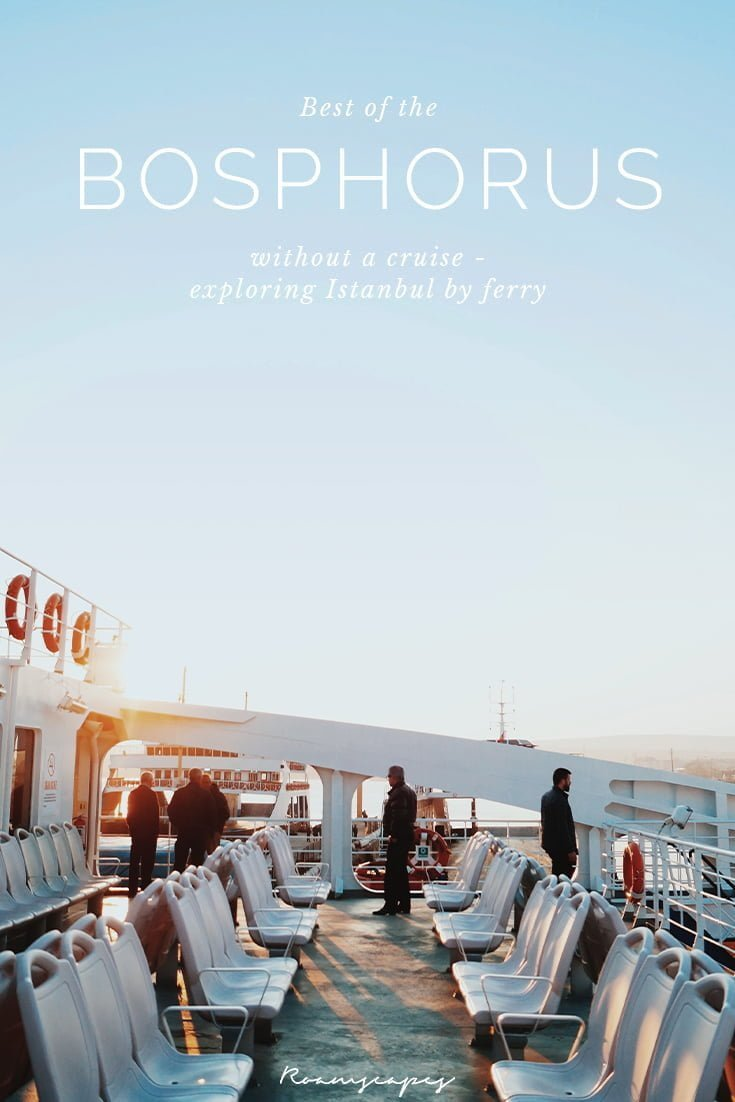 Contemplating a Bosphorus cruise? Instead of that, here's how you can use the #Istanbul #ferry services to create your own personalized #Bosphorus tour.