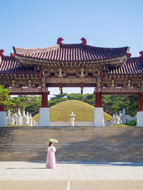North Korea UNESCO World Heritage sites: Tomb of King Tongmyong