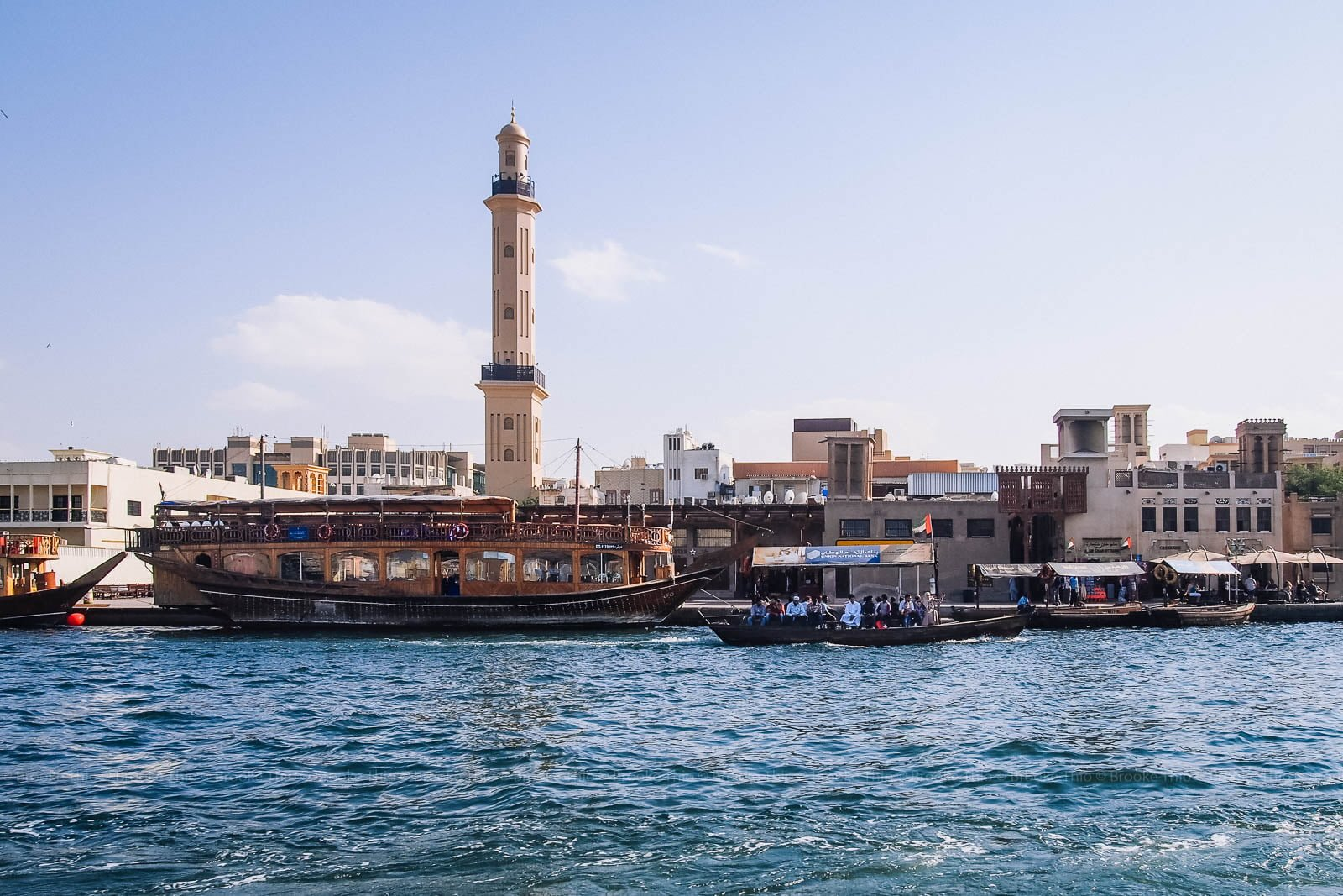 Things to do in Old Dubai: Ride an abra along Dubai Creek