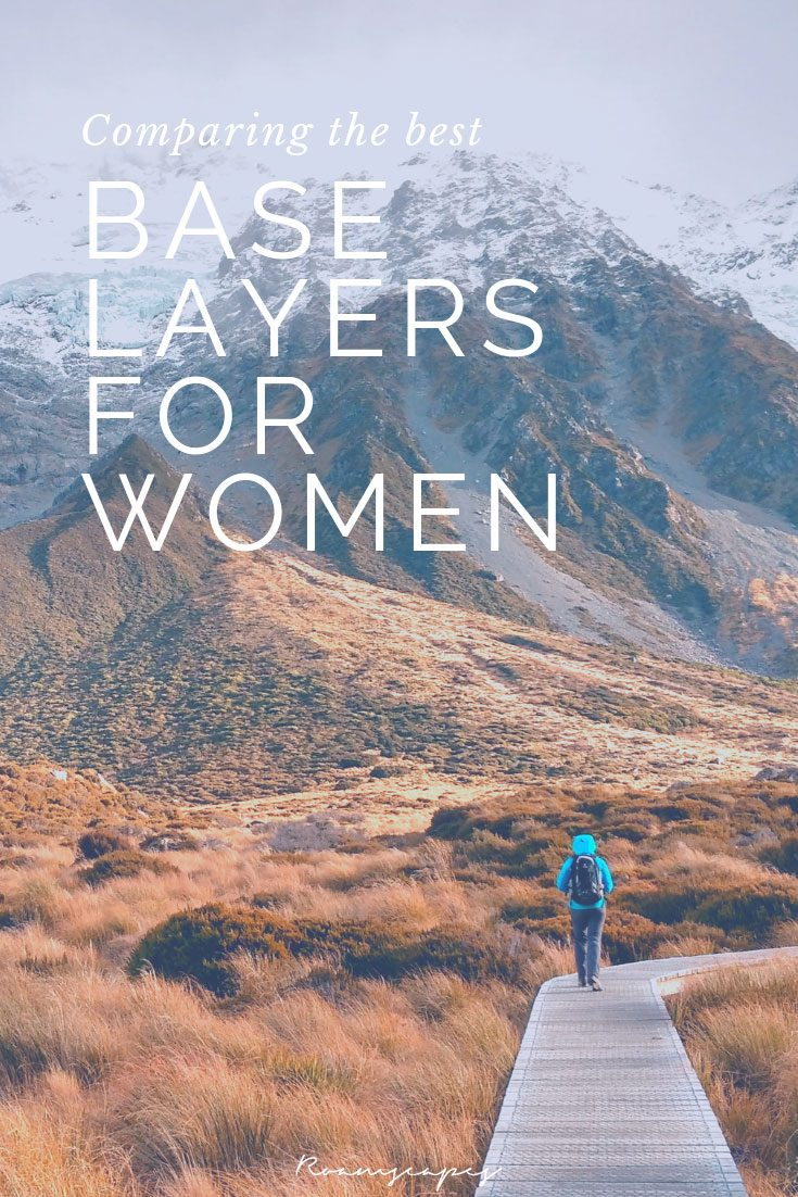 Pinterest image: Comparing the best base layers for women